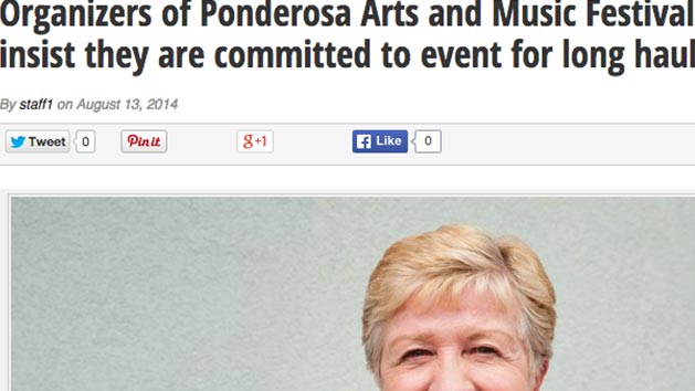 Ponderosa 2013 ticket contest winner featured in the Osoyoos Times