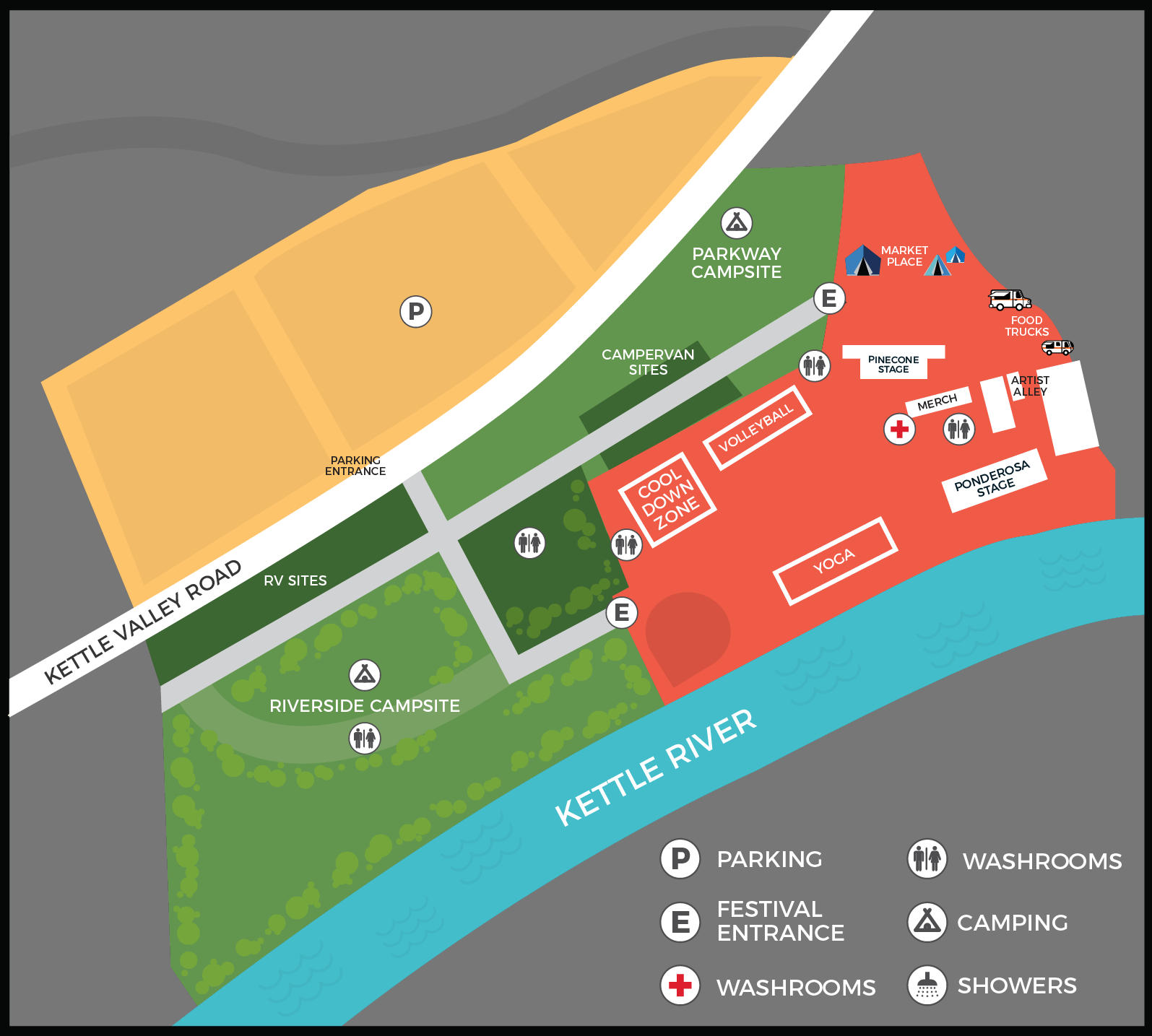 Ponderosa 2018 Map